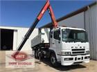 2009 Mitsubishi FV54 Crane Truck