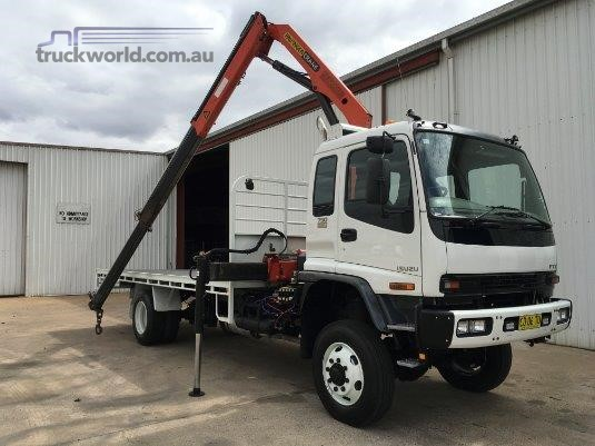 2007 Isuzu FTS 750 4x4 - Trucks for Sale
