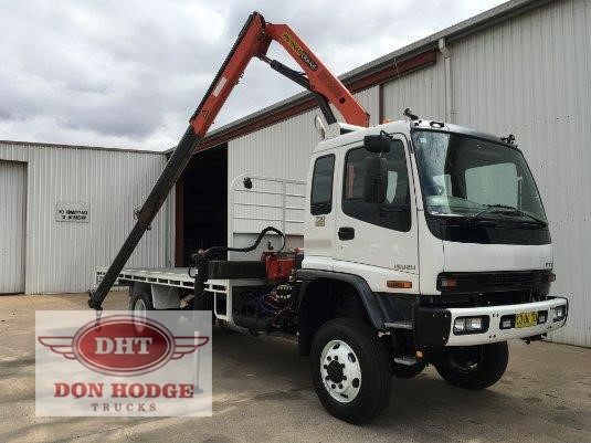 2007 Isuzu FTS 750 4x4 Don Hodge Trucks - Trucks for Sale