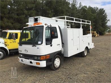 HINO Service Trucks / Utility Trucks / Mechanic Trucks