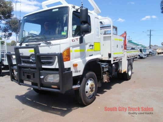 2012 Hino 500 Series 1322 GT 4x4 South City Truck Sales - Trucks for Sale