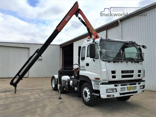 2009 Isuzu CXY 455 Medium Premium - Truckworld.com.au - Trucks for Sale