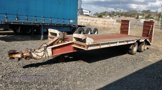 Homemade Plant Trailer Wheellink - Trailers for Sale