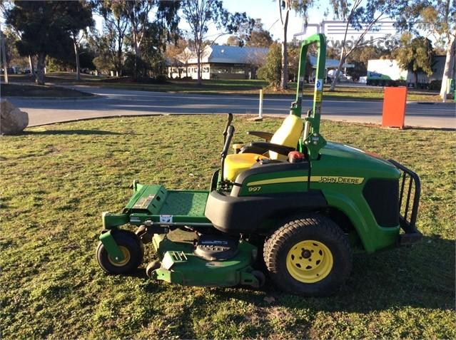 2011 John Deere 997 Lawn Mowers Zero Turn Farm Machinery