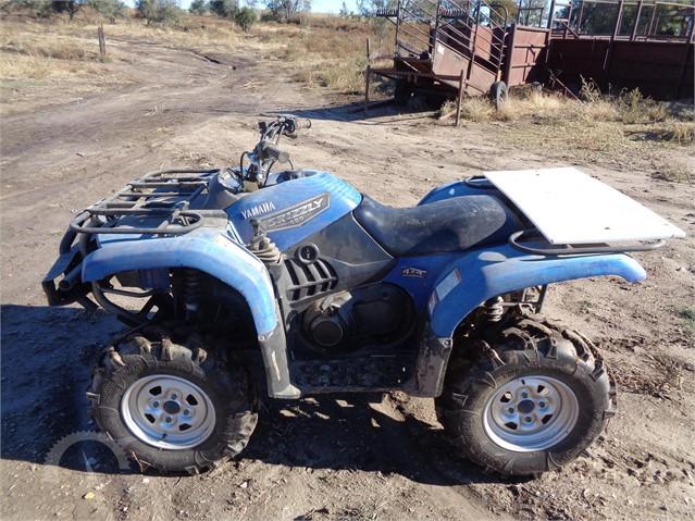 Yamaha Grizzly 660 >> Lot 8292 Yamaha Grizzly 660
