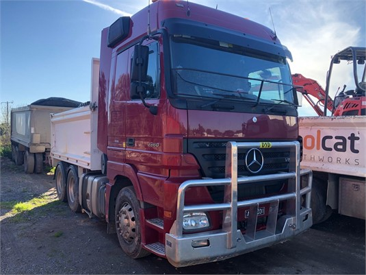 2009 Mercedes Benz Actros 2660 - Trucks for Sale