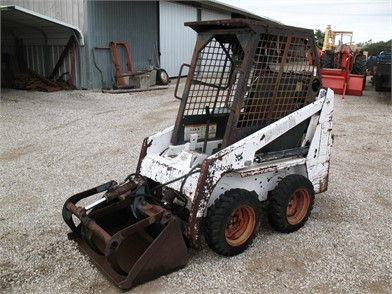BOBCAT Wheel Skid Steers Auction Results In Texas - 685