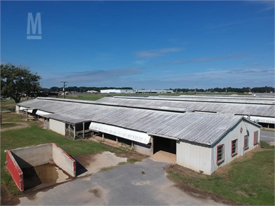 671625c91be5a Approx 42  X 210  Wood Frame Barn W Metal Siding Buildings Auction ...
