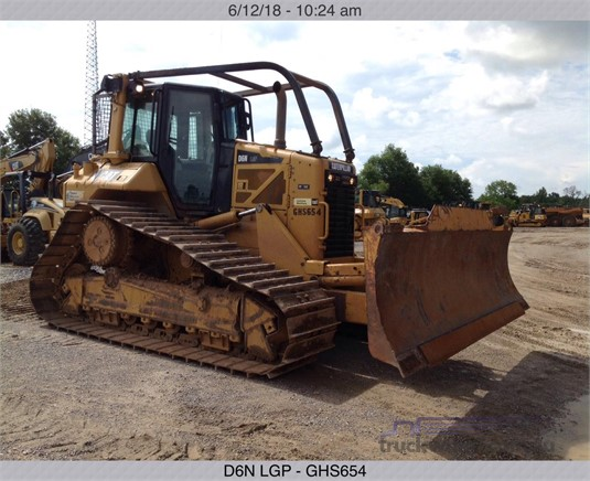 2011 Caterpillar D6N LGP Delco Equipment Pty Ltd - Heavy Machinery for Sale