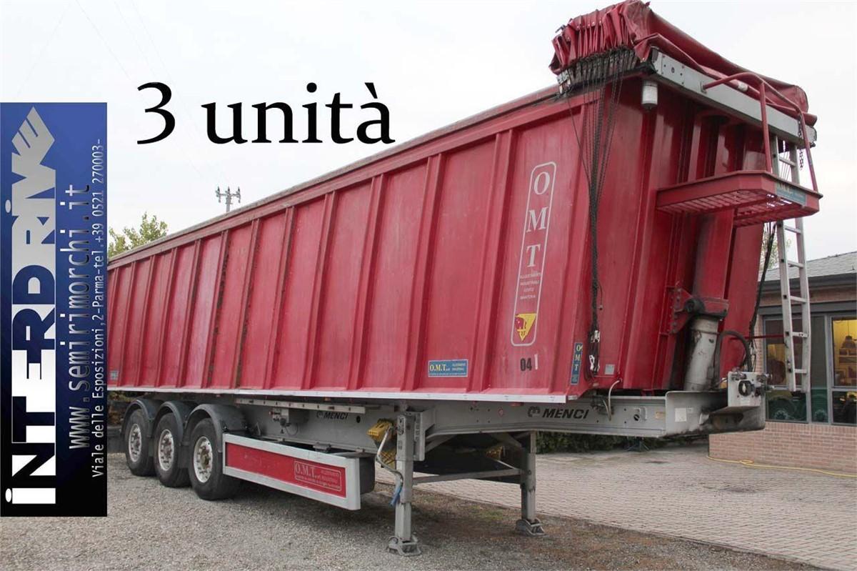 MENCI SEMIRIMORCHI RIBALTABILE ROTTAMI 56M3 USATO