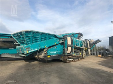 POWERSCREEN WARRIOR For Sale - 92 Listings | MarketBook co