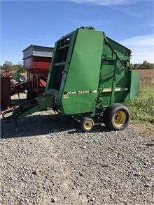 JOHN DEERE Round Balers Auction Results - 636 Listings