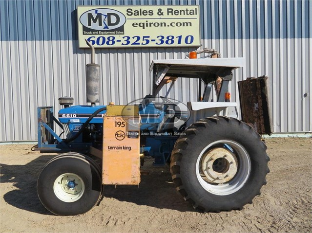 1988 NEW HOLLAND 6610 For Sale In Monroe, Wisconsin