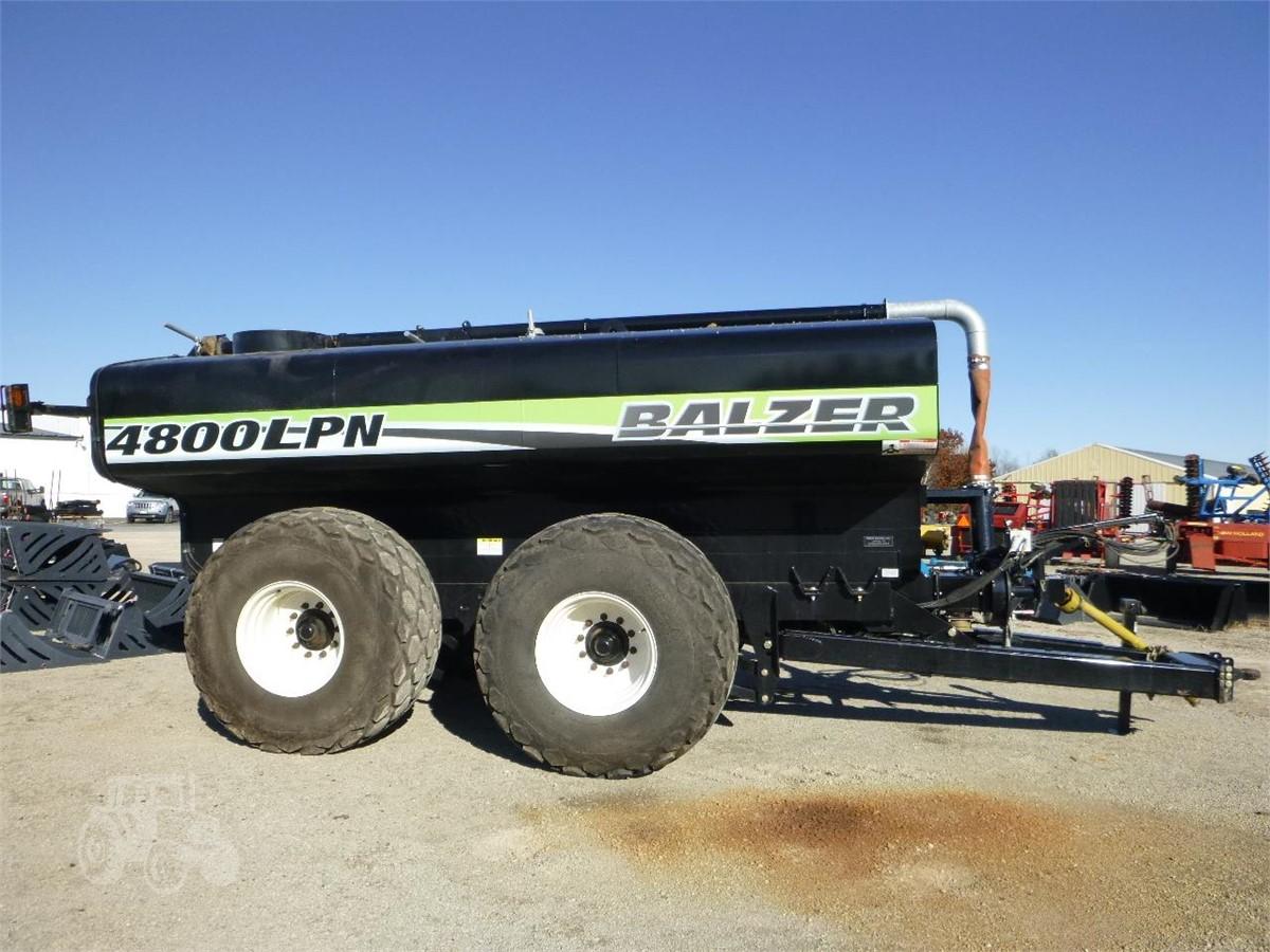 2016 BALZER 4800LPN For Sale In Coleman, Wisconsin | www