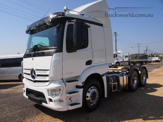 2018 Mercedes Benz Actros 2646 - Trucks for Sale
