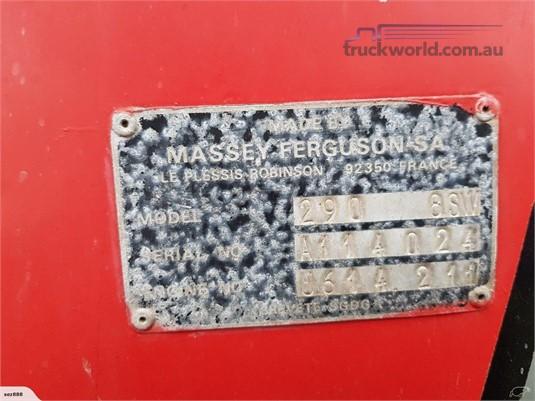 1988 Massey Ferguson 290 - Truckworld.com.au - Farm Machinery for Sale