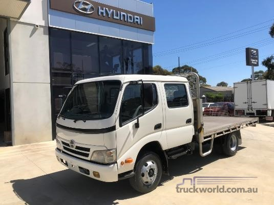 2008 Hino 300 Series 616 Crew Auto - Truckworld.com.au - Trucks for Sale