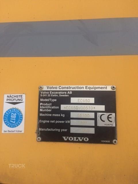 VOLVO EC650ME