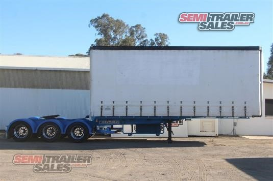 2005 Krueger 12 Pallet Curtainsider Semi A Semi Trailer Sales - Trailers for Sale