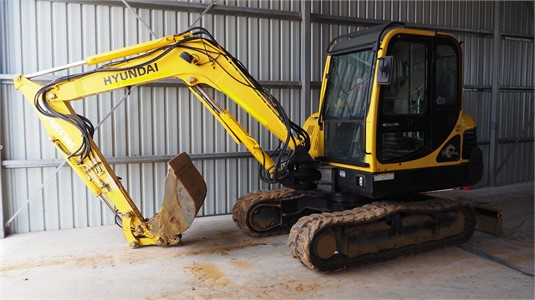 2009 Hyundai Robex 55-7 - Heavy Machinery for Sale