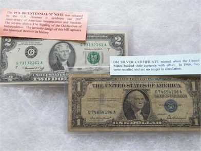 1957 $1 Silver Certificate & Other Personal Property Personal ... Bluebird Bus Wiring Diagram Wiper on
