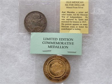 1964 Mexican Silver Dollar & Other Auction Results In