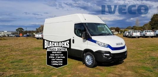 2018 Iveco Daily 35s17a8v 12m3 Iveco Trucks Sales - Light Commercial for Sale