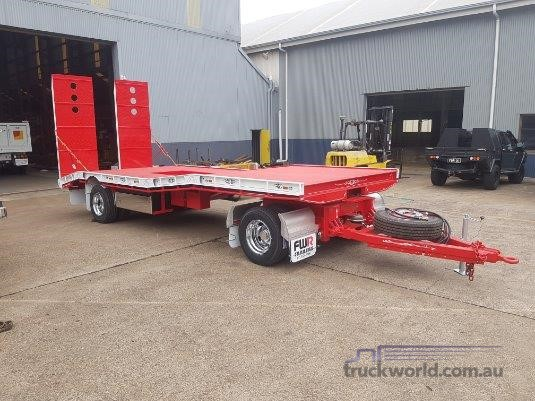 2019 FWR 2 Axle Dog Trailer-FD2 Air Bag - Trailers for Sale