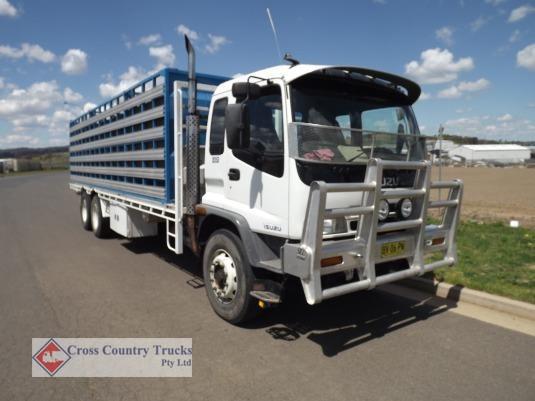 2002 Isuzu FVD 950 Cross Country Trucks Pty Ltd - Trucks for Sale