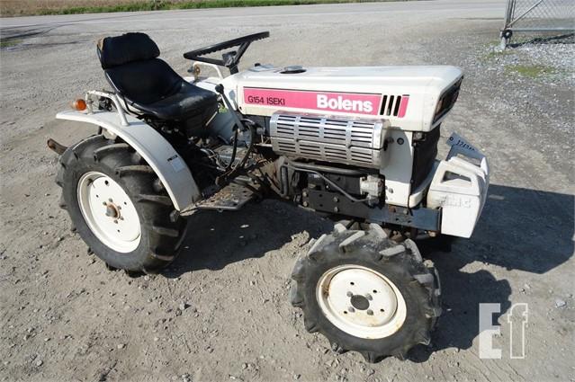 Iseki Bolens Tractor