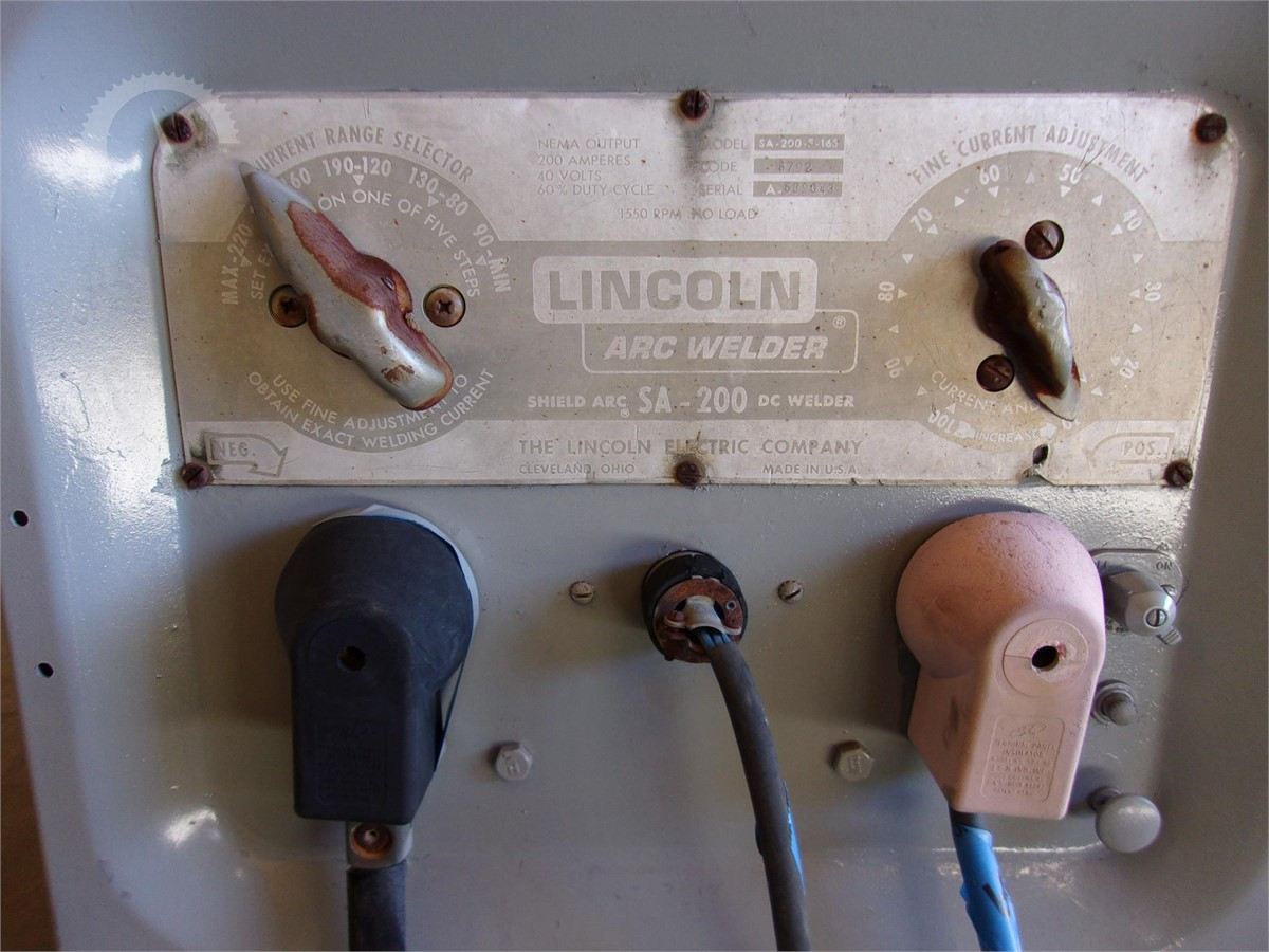 Lincoln Sa 200 F 163 Auction Results Pipeliner Welders For Sale