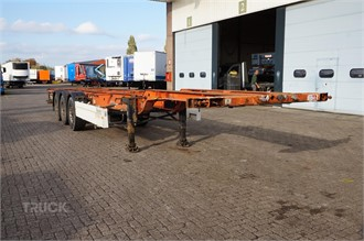 KRONE Container chassis 3-assig/40-45ft.