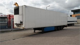 SCHMITZ CARGOBULL 3 AXLE FRIGO TRAILER CARRIER VECTOR 1850 MT