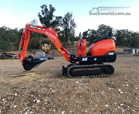 2005 Kubota K008 - Heavy Machinery for Sale