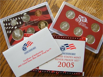 2005 Silver Red Box Proof Set Other Auction Results In