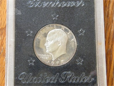 1972-S Proof Eisenhower Silver Dollar Other Auction Results In ... on