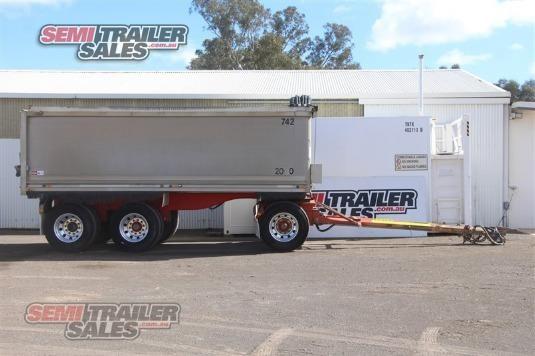 2002 Hamelex Super Dog Tipper Semi Trailer Semi Trailer Sales - Trailers for Sale