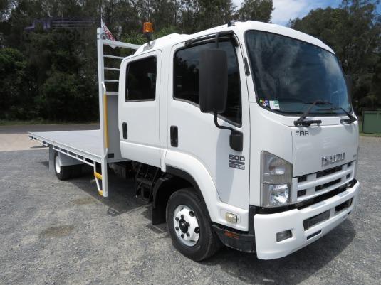 2008 Isuzu FRR 600 Crew Trucks for Sale