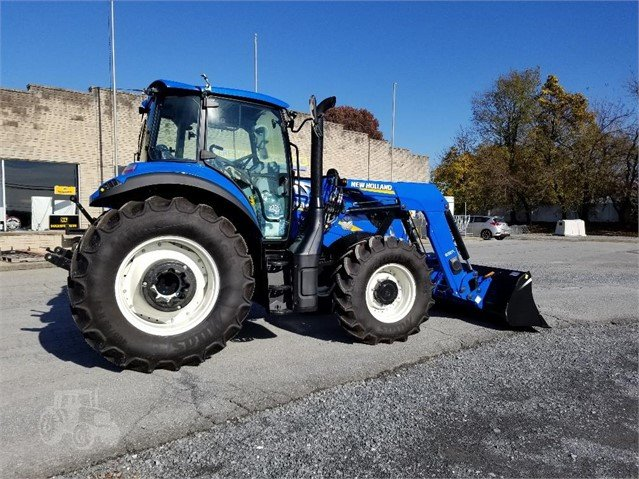 2019 NEW HOLLAND T5 120 EC TIER 4B For Sale In Frederick, Maryland