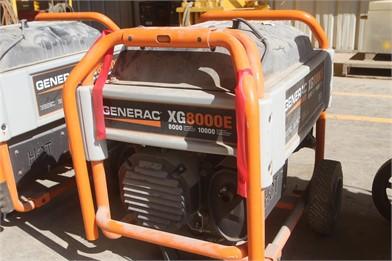 GENERAC XG8000E Other Resultados Leilões - 2 Listagens