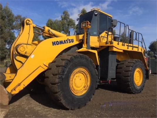 2007 Komatsu WA600-6 Heavy Machinery for Sale