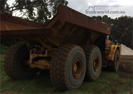 2002 Caterpillar 740 - Truckworld.com.au - Heavy Machinery for Sale