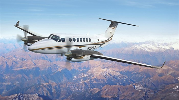 Special Edition Beechcraft 350i Turboprop Coming From