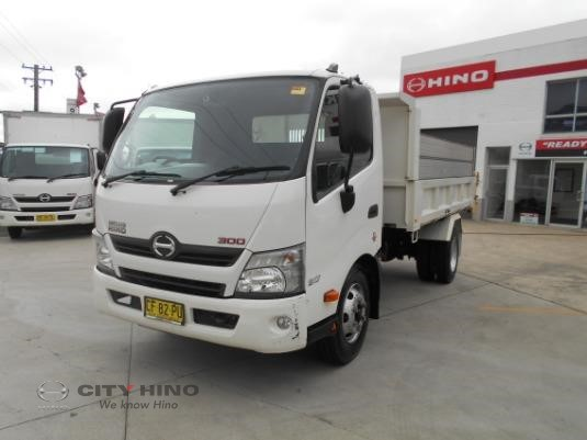 2015 Hino 300 Series 917 Tipper City Hino - Trucks for Sale