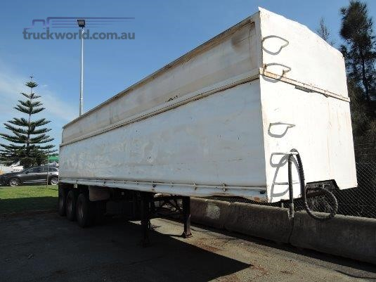 2008 Bylund Tipper Trailer Truck Wholesale WA - Trailers for Sale