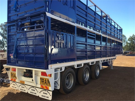 2018 Sheahan Built B Double Livestock Trailer - Trailers for Sale