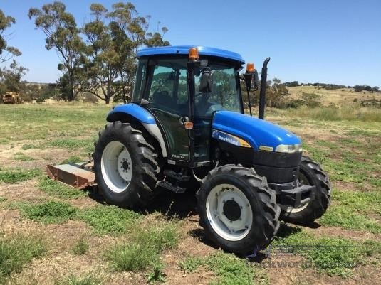 2009 New Holland TD70D - Farm Machinery for Sale