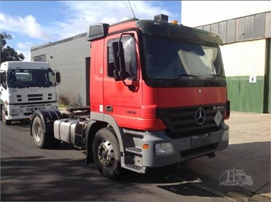 MERCEDES-BENZ Cabover Trucks W/ Sleeper For Sale - 36