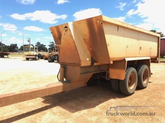 1999 Gte Tipper Trailer - Trailers for Sale