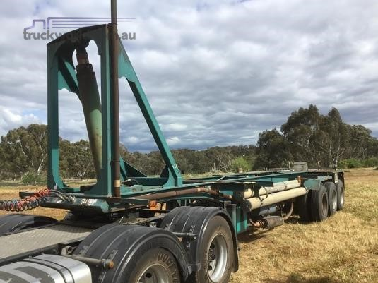1997 Krueger Tipping Skel with Blower Kit - Trailers for Sale